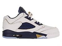 Кроссовки мужские Баскетбольные Air Jordan V Retro Low White