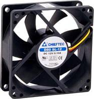 Корпусный вентилятор chieftec thermal killer af-0825s,80мм,2000 об/мин,3pin/molex,26dba