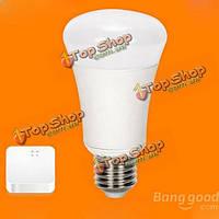 E27 6W белый Wi-Fi беспроводной пульт дистанционного управления затемнения LED Smart лампы + мост AC 220В