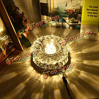 Наивысшей мощности 5W современные кристалл LED потолочный светильник заподлицо фойе свет приспособление