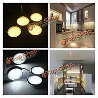 4р LED дом кухня шкаф полка ночью свет энергосберегающие лампы лампы