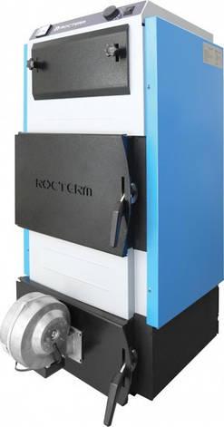 """Твердопаливний котел """"Rocterm"""" КТБ-18В з автоматикою, фото 2"""
