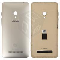 Задняя панель корпуса для Asus ZenFone 5 A501CG, золотистая, оригинал