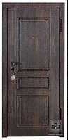 """Бронированные двери """"Престиж"""" тиковое дерево, размер 850*2030"""