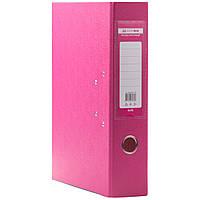 Папки регистраторы на кольцах  А4  5см  розовый
