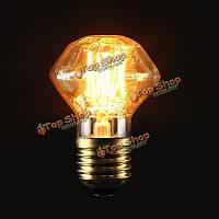 Е27 40Вт старинные антикварные Эдисон углеродные нити прозрачное стекло лампы 220В