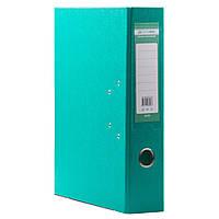 Канцтовары папки регистраторы  А4  5 см бирюза
