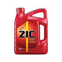 Трансмиссионное масло ZIC Dexron VI 4л