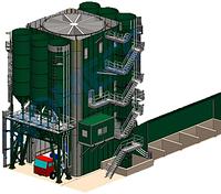 Стационарные бетоносмесительные установки