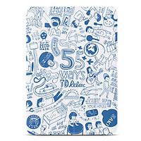 Чехол ozaki o!coat-relax 360° ipad air/air 2 blue
