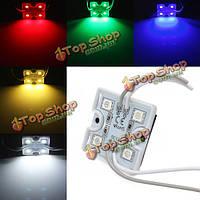 1шт LED модуль водонепроницаемый SMD 5050 12V красный/зеленый/синий для афиши