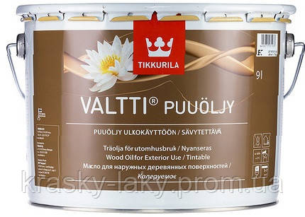 Масло для дерева Valtti Tikkurila Валтти, 9л.