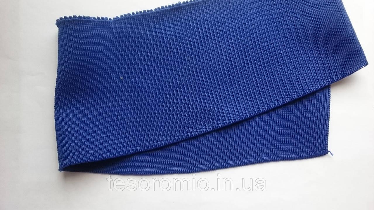 Довяз-воротник #30. Синий. Длина 46 см, ширина 10 см.