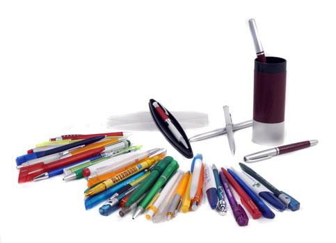 Ручки шариковые, гелевые