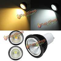 Лампа GU10 3W белый/теплый белый cob LED пятно света шарик ac85-265в