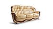 """Кожаный четырехместный раскладной диван """"Джозеф"""" (240см), фото 2"""