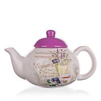 Керамический чайник banquet 700 мл lavender (60zf1070)