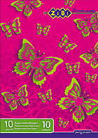 Zibi Бумага цветная (Супер цвета) 10 листов.  ZB.1908