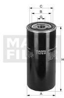 Масляний фільтр MANN FILTER (МАНН) WD 950/5, фото 1