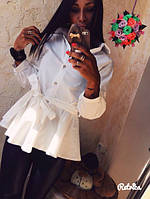 Блузка женская баска ОИ/-282
