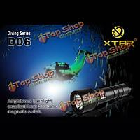 XTAR d06 механической обработке Cree хм-L U2 в 820 люмен 100м дайвинг LED фонарик 1*18650