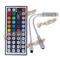 44 ключевых ИК-пульт дистанционного управления Mini контроллер для 3528 5050 RGB LED полосы света