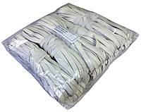 Резинки бельевые (8mm/10m) белые, тесьма эластичная