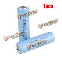 1шт 18650мh1 3.67v 3200мАh 10а литиевая аккумуляторная батарея для LG