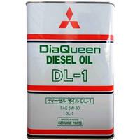 MITSUBISHI DiaQueen Diesel DL-1 5W-30 Моторное масло для дизельных двигателей 4л