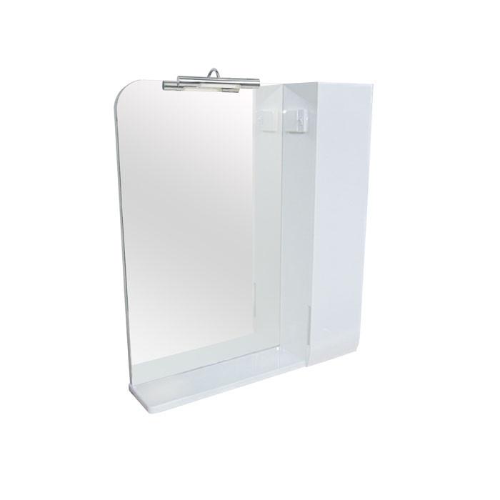 Зеркало Аква Родос Оскар 60 с подсветкой и шкафчиком