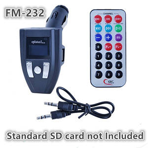 FM-трансмиттер FM-232, FM трансмиттеры автомобильные, FM-трансмиттер FM-232 №А