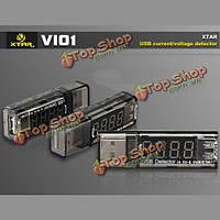 XTAR vi01 USB тока/напряжения детектора для банка силы батареи