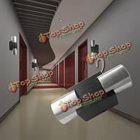 Современная вверх и вниз LED настенный светильник прикроватный свет влияние света пятна
