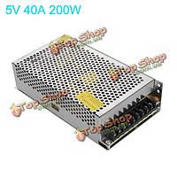 200Вт импульсный источник питания 170-250В 5В 40А (LEDполосы света