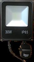 LED прожектор 30W с датчиком движения ElectroHouse
