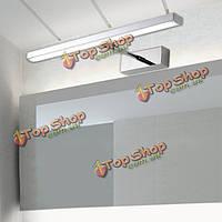 6 Вт нержавеющая сталь выдвижной LED зеркало настенные светильники для дома ванная комната