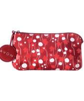 Міні-сумка для ключів червона, косметичка,ключниця Avon, 37462