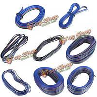 Кабель 4-контактный провод-удлинитель для RGB LED прокладки 1-50м