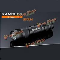 Manker Рамблер Cree XML2 в 960lm USB перезаряжаемые одг LED фонарик