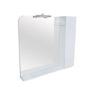 Зеркало Аква Родос Оскар 90 с подсветкой и шкафчиком, фото 2
