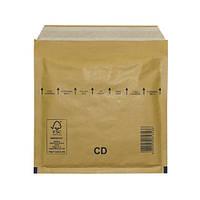 Пакеты (конверты) CD (180 х 165 мм) СКЛ с воздушной прослойкой (коричневый)