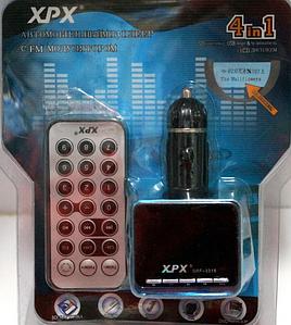 FM модулятор трансмиттер FM-3318, fm трансмиттер с пультом, автомобильный трансмиттер