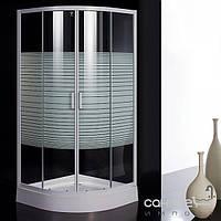 """Душевые кабины, двери и шторки для ванн Eger Душевая кабинка Eger TISZA 599-021/1 стекло """"Frizеk"""", без поддона"""