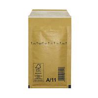 Пакеты (конверты) S1 (100х165 мм) СКЛ с воздушным слоем (коричневый)
