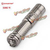 Sunwayman c25c ти престолы CREE XML2 U2 856 люмен LED фонарик
