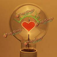Е27 3вт лампочки Эдисона я люблю тебя образный декоративный свет лампы 220В