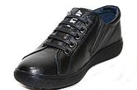 Подростковые осенние кожаные туфли для мальчика, фото 1