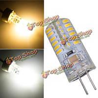 В G4 2.6 Вт теплый белый/чисто белый 48 SMD 3014 LED электрическая лампочка Лампа 220V