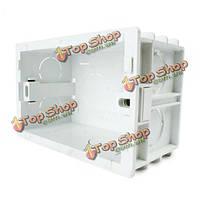 Livolo US стандартные внутренние крепление коробки для 118мм*72мм стене выключатель света