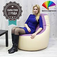 Кресло-Мешок Барное XL 80x80x60 см (ткань: кожзам)